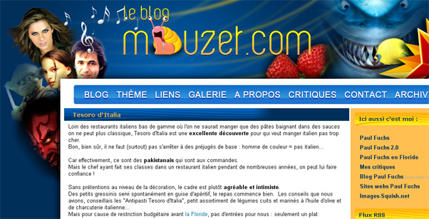 Blog.Mouzet.com par Paul Fuchs